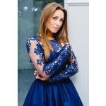 1483c4af16e89f LaKey Dafne koronkowa asymetryczna sukienka. Sukienki Wieczorowe ...